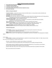 Class Outline-Business Info Sys