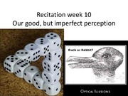 Recitation week 10 Fall 14