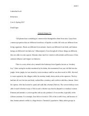 Core 6 Science Reflection Paper.docx