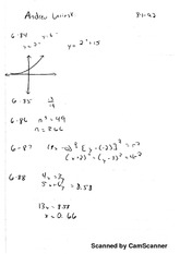 Logarithm Review answers