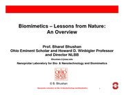 15 Biomimetics Overview