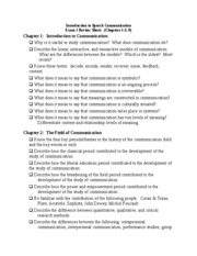 Review Sheet Exam 1 Fall 2010