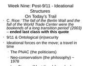 POLS2221 Lecture Notes 9-21-2011