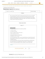 Business Law 13th Edition Chapter 25 Problem 4BS Solution _ Chegg.pdf