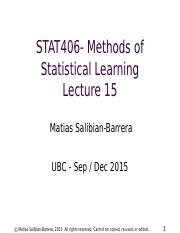 STAT406-15-lecture-15