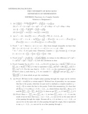 MATH 2403 2013 Assignment 1 Solutions