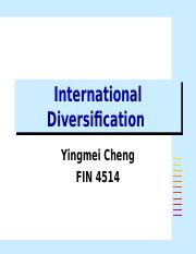 International Diversification.ppt