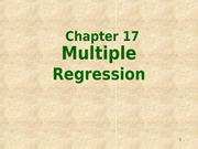 Ch18-Multiple Regression