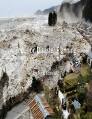 Focus on Disaster Planning.pptx