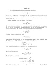 CH E 310 Problem Set #2 solutions