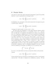 MATH 412 Notes 8.1 Fourier Series