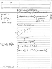 REGRESSION ANALYSIS NOTES 2