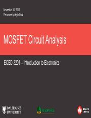 ECED 3201 - 8 - MOSFET Circuit Analysis.pdf