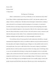 Honors 1020- paper 4