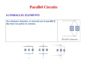 ch 4- Parallel Circuit