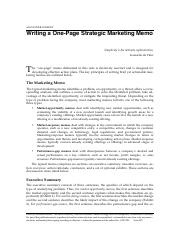 Writing%2BMarketing%2BMemo