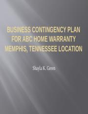 Business Contingency plan for abc home warranty memphis.pptx