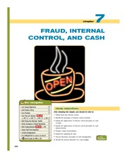 Chapter4 Fraud Internal Control and Cash