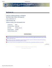 Most Recent I-94 - MostRecentI94 MostRecentI94 Admission(I94