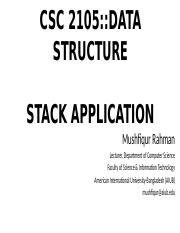 Lecture 08 - Stack and Queue Application.pptx