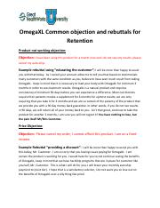 Common objection and rebuttals for Retention.pdf