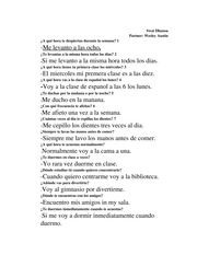 Script for Spanish Portfolio
