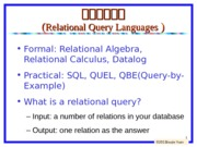 lecture6-Relational+Algebra