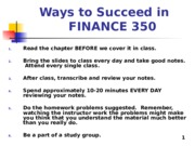 Zhang_student_Chapter 01_OverView of Financial Mgmt