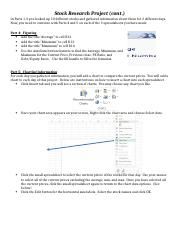 Stock Research Project 2013 - Parts 4 & 5.docx
