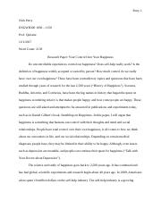 Research paper on Happiness.docx
