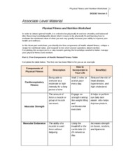 physical_fitness_nutrition_worksheet