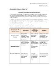 week 2 physical fitness nutrition worksheet physical fitness and nutrition worksheet sci 163. Black Bedroom Furniture Sets. Home Design Ideas
