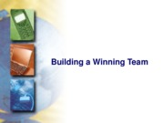 building a team ppt