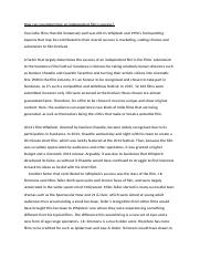 Independent Film Essay Draft 2.docx