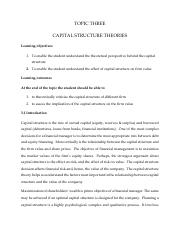 Chapter 3- MSF 506- Capital Structure Theories.pdf