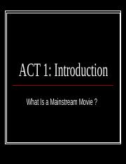 ACT 1 Introduction Presentation1.ppt