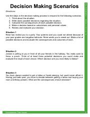 iCEV20077_Activity_-_Decision_Making_Scenarios