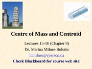 Chapter9-Center of Gravity ..Centroid Lecture