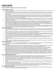 apush course notes Ap us history notes, outlines, dbqs and essays — ap us history is a serious course and includes many course goals here you find ap us history outlines, notes.