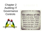 Chap02 Lesson1 Auditing IT Governance Controls