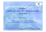 Chapter 3 Arithmetic and logic instructions and programs