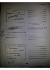 Educational Psychology Class Notes Chapter 7 Notes