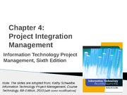 04-Chapter 04-Integration Management