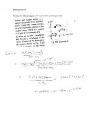 Problem Set 6 Conservation Solutions