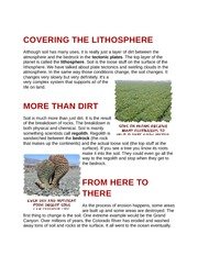 Covering The Lithosphere