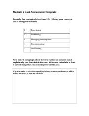 Module 2 Post Assessment Template.doc