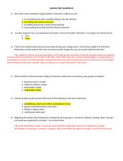 BGS 370 SAMPLE TEST QUESTIONS_Answer Key