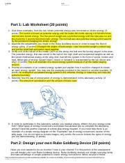 1.05.docx - Ruth Richardson Physical Science 1.05 Energy Lab ...