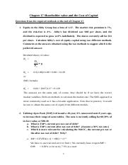 FNCE2000_Chapter17_Shareholder_value_&_the_Cost_of_Capital_Solutions(2)(1) (1)