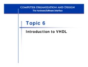 L6 Intro to VHDL
